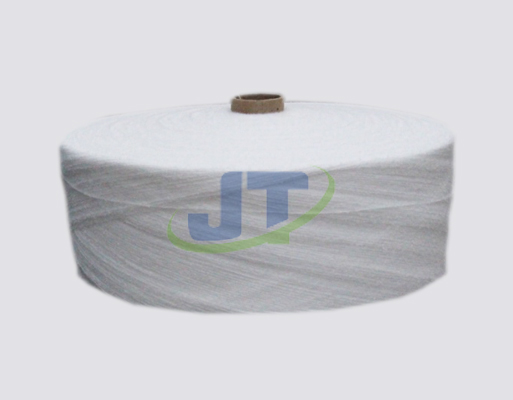 Polypropylene air-jet fibre